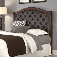 tufted panel headboard with brown leather in cherry 5545 x01e inside queen plans 7 amazing deal on leather headboard with distressed nailheads brown