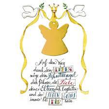 Glückwunschkarte Zur Taufe Schutzengel 5 Stck