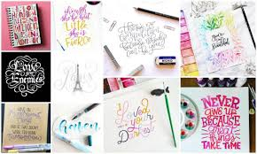 Lettering Inspiration May Instagram Features Dawn Nicole Designs
