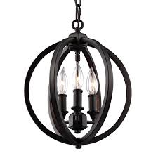 feiss corinne oil rubbed bronze three light 11 inch wide pendant