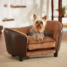 small dog furniture. Enchanted Home Pet Ultra Plush Small Pebble Brown Bed Dog Furniture C