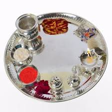 indian wedding souvenirs puja thali gifts indian wedding gift silver puja thali