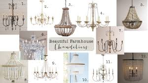 friday finds farmhouse chandeliers  house of hargrove