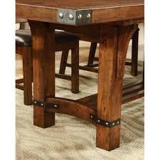 mission dining set standard furniture hills round table plans oak