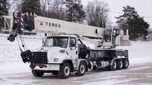 Terex Crossover 8000 Boom Truck Crane 80 Us Tonnes 72 5