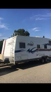 red line by fleetwood toy hauler trailer rv s until 2020
