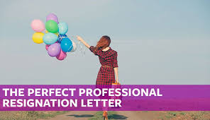The Perfect Professional Resignation Letter (Free Sample Template ...