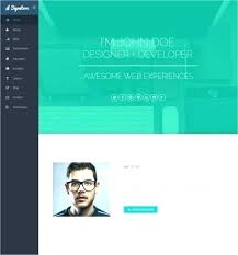 Resume Website Templates Awesome Personal Website Resume Template Personal Website Template Cool