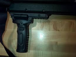 Stickman Magazine Holder Magpul vert grip is what I have on my setup Keltec KSG Shotgun 65