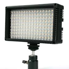 led light kit led160 portable battery operated two light photo lighting kit
