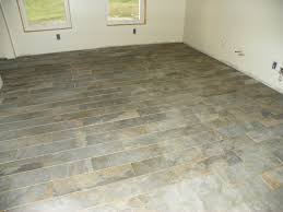 Slate For Kitchen Floor Kitchen Tile Style Selections 6 In X 24 In Ivetta Black Slate