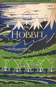 dustcover for the hobbit published by allen and unwin