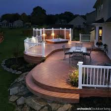 outdoor deck lighting ideas. Outside Deck Ideas Lighting Best Outdoor For Decks Porches Patios And Parties Images On