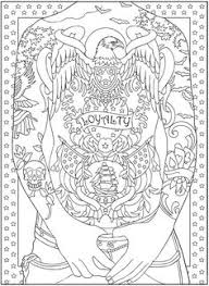 Small Picture Body Art Tattoo Designs Coloring Book page by Dover Pics I like