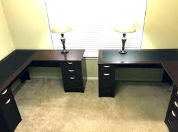 double office desk. 2 Person Home Office Desk Sided Double .