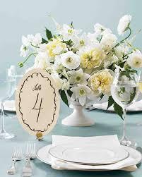 Printable Wedding Table Number Templates Martha Stewart