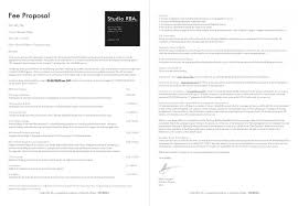 Building Design Fee Proposal Letter Management Lhfa