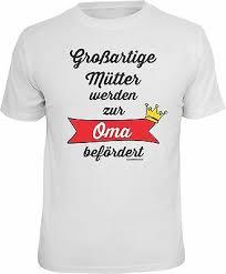 T Shirt Werdende Oma Geschenk Lustiges Sprüche Großmutter Geburt Oma