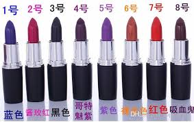 newest gothic er lipstick frost matte lipstick hallowmas cosplay vire party makeup lipgloss cosmetics gift drop shipping best makeup brands cosmetics