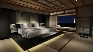 Bedroom:Black Japanese Style Bedroom Design Furnituru Wonderful Master Japanese  Bedroom Decorating Idea With Long