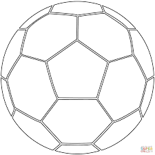 Small Picture Soccer Ball coloring page Free Printable Coloring Pages