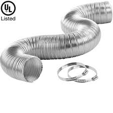 dryer hose clamp semi rigid aluminum clothes dryer transition duct how to fit dryer hose clamp