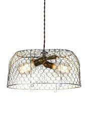 wire basket chandelier vintage egg basket 2 light chandelier hanging wire basket chandelier