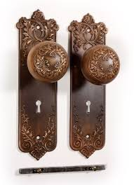 antique door knobs. SOLD Antique Bronze P. \u0026 F. Corbin \u201cLorraine\u201d Door Knob Set With. \u2039 \u203a Knobs