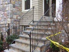 exterior wrought iron stair railings. Fine Railings Exterior Railing By Iron Work Expo In NJ Intended Wrought Stair Railings