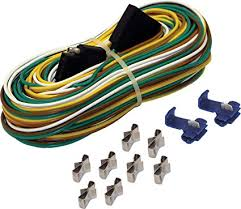 boat trailer wiring harness kit great installation of wiring diagram • amazon com shoreline marine 4 way trailer wire harness 25 feet rh amazon com commercial trailer wiring harness boat trailer wiring harness kit