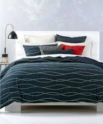 hotel collection duvet cover washing instructions 1 king modern wave dark blue cotton s