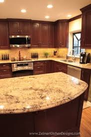 Superior Dark Cherry Cabinets With Granite Counters · Light Granite CountertopsBathroom  CountertopsKitchen ... Awesome Design