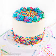 Homemade Funfetti Cake A Bajillian Recipes