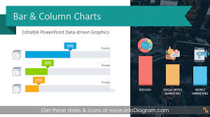14 Bar Chart Design Templates And Stacked Column Graphs Graphics Excel Data Driven Powerpoint Comparison