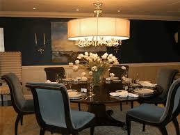 dining room room decorating ideas modern white shade stainless steel chandelier elegant cylinder pendant lamp
