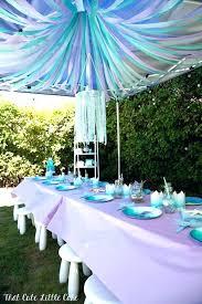 mermaid garden decor mermaid garden decor outdoor mermaid decor pastel mermaid themed birthday party via party mermaid garden decor