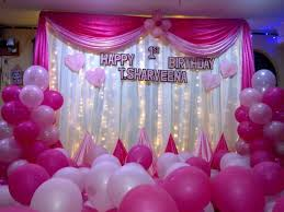 birthday room decoration simple image inspiration of cake and