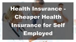 health insurance for self employed ma hsa