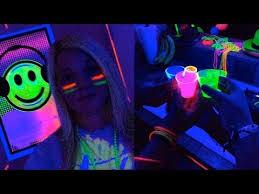 epic black light party