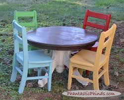 vine kid s table chairs chalk paint