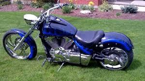 midnight blue vtx honda chopper totally rad choppers