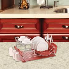 20 in x 13 in x 10 in red deluxe dish