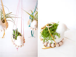 Diy Nesting Bird Hanging Planter Little Street