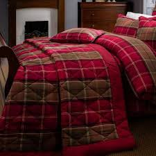 Dorma Lomond Red Bedspread   Dunelm & Dorma Lomond Red Bedspread Adamdwight.com