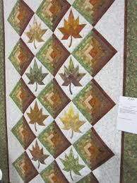 117 best 0- TIM's Leaf Quilt images on Pinterest | Patterns ... & log cabin block and maple leaf · Quilting DesignsQuilting PatternsQuilting  ... Adamdwight.com
