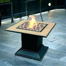 patio gas fire pit