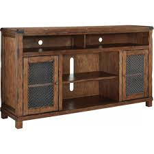 Ashley Furniture Tamonie XL TV Stand with Fireplace Option in
