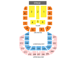 Shreveport Municipal Memorial Auditorium Seating Chart