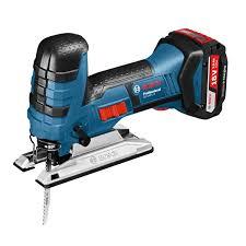 jigsaw tool. bosch gst18vlis 18v cordless jigsaw \u0026 25 x blades tool
