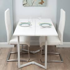 Fold Down Kitchen Table White Dining Room Wall Mounted Folding For